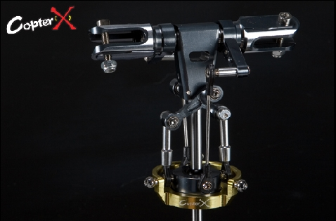 CX450BA-01-50 - Flybarless Rotor Head Set for EP450