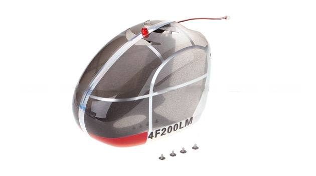 HM-4F200LM-Z-09S -  Canopy (Silver) for 4F200LM
