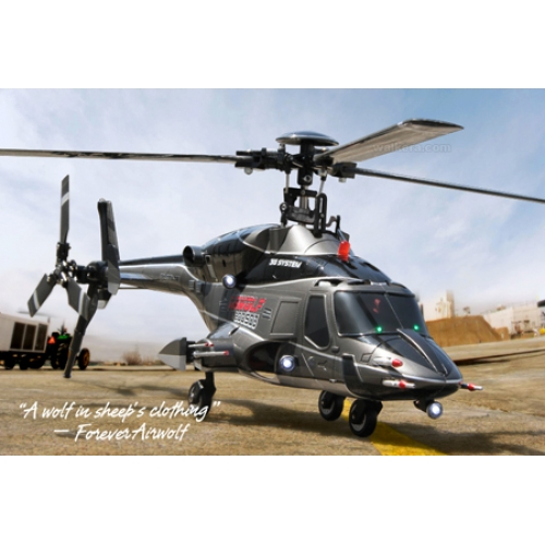 NEW WALKERA 2011 - Airwolf 200SD3 6CH Multiblades Metal Upgrade